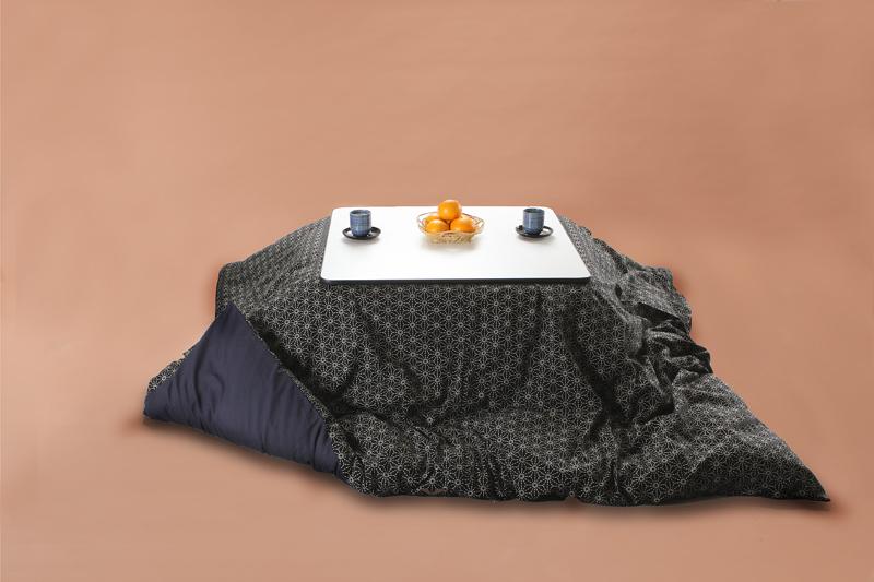 Kotatsu こたつ布団カバー 長方形205×245cm 麻刺し子