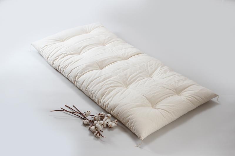 綿布団 職人手作り 敷布団 シングルサイズ インド綿100% 6kg入 綿ブロード生地