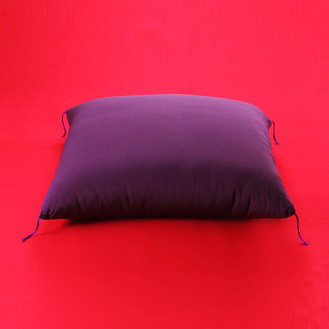 【特大サイズ 90cm角】落語 高座用・祝寿用 座布団 高級ちりめん生地 紫色