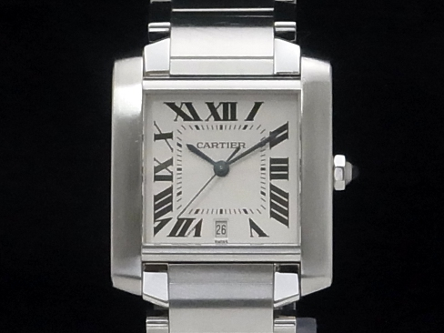Cartier - CARTIER - maintenance and outstanding men's W51002Q3 LM SS/SS Francaise