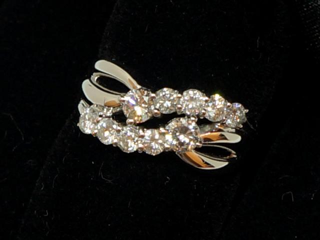 【NEW】 ダイヤモンド リング - RING - リング・10Pダイヤ PT (プラチナ) / ダイヤ (1.00ct) 指輪