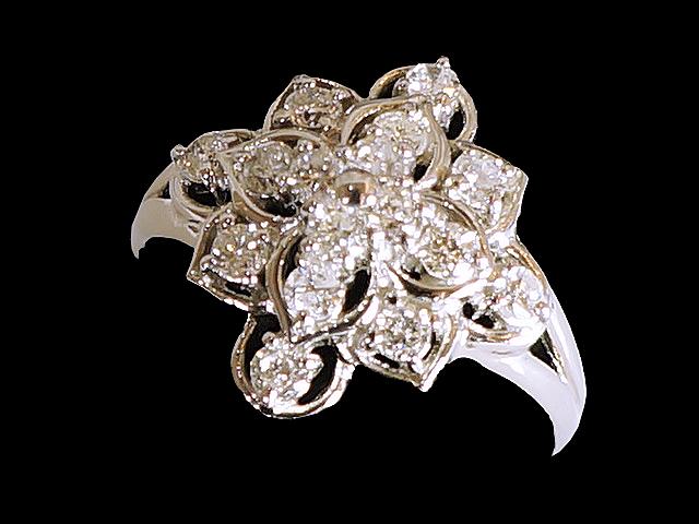 【NEW】 ダイヤモンド リング - RING - ポラリス スタイル  PT / ダイヤ (0.56ct) 指輪