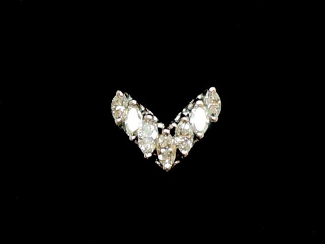 【NEW】ダイヤモンドリング-RING-7PマーキスダイヤPT/ダイヤ(1.01ct)指輪【新品】