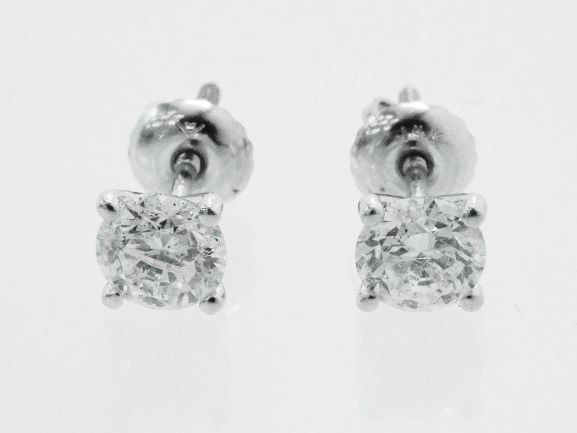 【NEW】 Dカラ VVS GIE評価の最高級、1.09ctのダイヤモンド・ピアス 超大粒 最高品質ダイヤモンド・ピアス WG 無垢 ホワイトゴールド ダイヤモンド 1キャラット超
