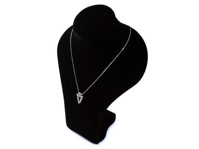 タイムセール NEW ダイヤモンド ネックレス - Necklace 11Pダイヤ 直輸入品激安 トライアングル プラチナ PT 1.10ct Lasoma ダイヤ