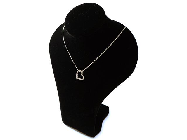 【NEW】 ダイヤモンド ペンダント - Pendant - 43Pダイヤ ハート デザイン  K18WG (18金 ホワイトゴールド) / ダイヤ