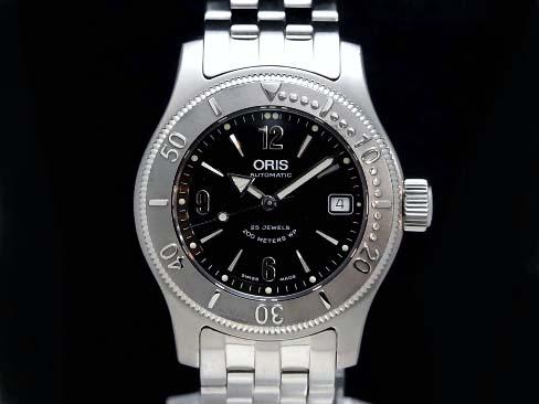 【USED】 オリス - ORIS - クラウン ビッグデイト ダイバー SS/SS 自動 メンズ 腕時計【中古】