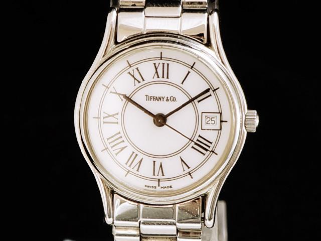 【USED】 ティファニー - Tiffany&Co. - クラシック ローマン SS/SS クオーツ レディース 腕時計 【中古】