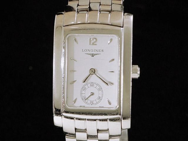 【USED】 ロンジン - LONGINES - ドルチェビータ ホワイトダイヤル スモセコ SS/SS クォーツ ボーイズ 腕時計 【中古】