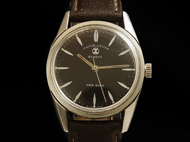 【USED】 ファーブル ルーバ - FAVRE LEUBA - シーキング 手巻き SS/革 ボーイズ 腕時計 【中古】