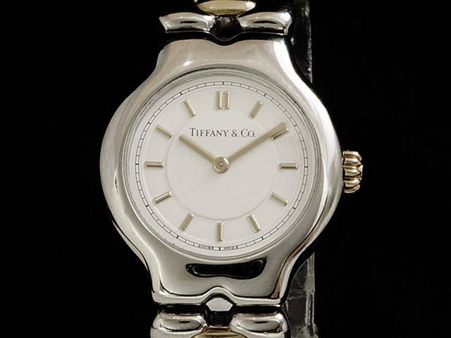【USED】 ティファニー - Tiffany&Co. - ティソロ 18KYG/SS クオーツ レディース 腕時計 【中古】