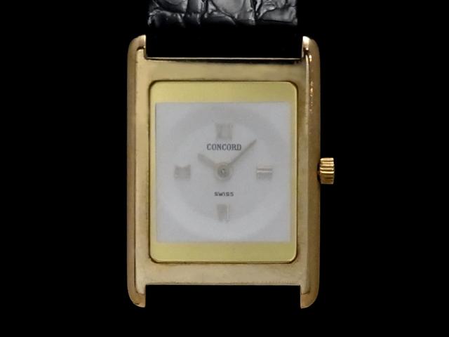 【USED】 コンコルド - CONCORD - デリリューム クオーツ 18KYG/革 レディース 腕時計 (中古), ギャラリーメイスン:02092970 --- adfun.jp