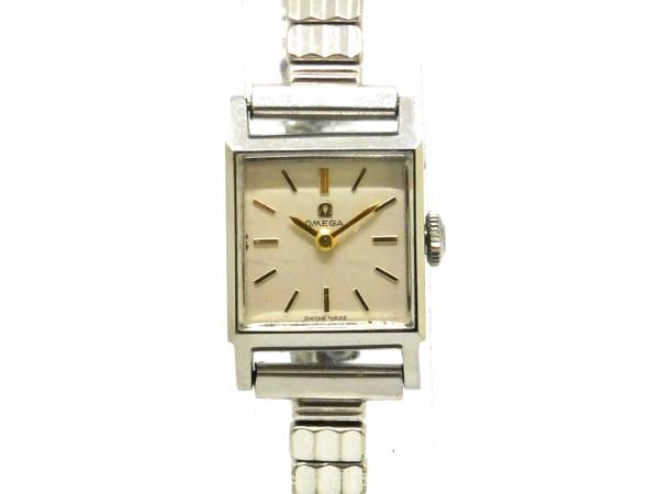 至上 半額 USED オメガ - OMEGA スクエア アンティーク 手巻き レディ―ス SS Luxury Brand 腕時計 中古 Selection