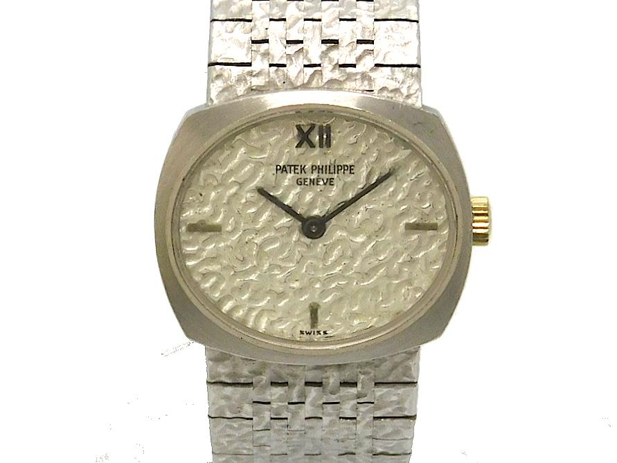 USED パテック フィリップ - PATEK PHILIPPE オーバル 手巻き レディ―ス 腕時計 大好評です 18KWG スーパーセール ヴィンテージ 中古