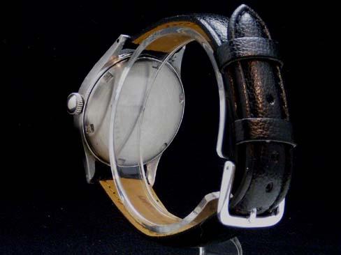 Zenith - ZENITH - star emblem Small second ARA lesbian SS case / leather belt Lady's