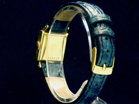 アイダブルシー - IWC - square antique cal.431 hand-rolled 18 KYG solid leather women