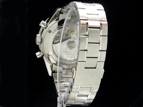 Tag Heuer - TAG HEUER - Carrera Chronograph CV2011 SS case /SS breath back skeleton automatic winding men's
