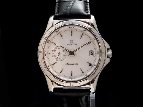 682 Zenith - ZENITH - class elite dual thyme Ref.01.0030 self-winding watch men Sakurashimmachi