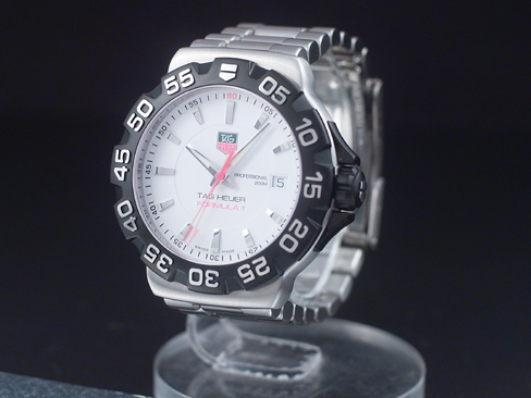 Tag Heuer Tag Heuer Formula 1 Ss Case Ss Breath White Face Comes With