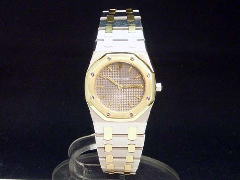 Audemars Piguet - AUDEMARS PIGUET - Royal Oak Combi 18KYG/SS ladies quartz