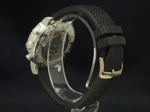 Chopard - CHOPARD - Mille Miglia automatic 18 KWG / rubber belt-men's