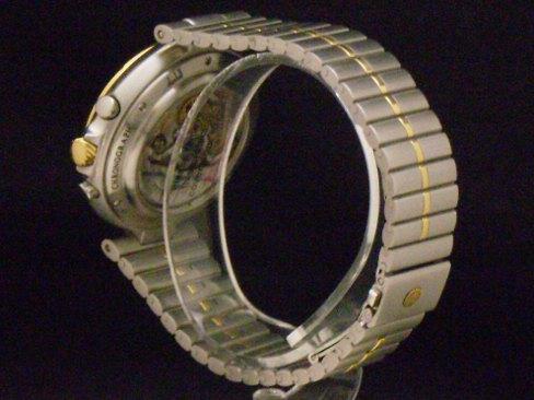 Dunhill - DUNHILL-Millenium Moonphase chronograph cal.710 El Primero YG/SS mens