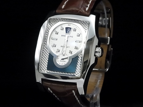 Breitling Breitling Bentley Flying B A28362 8 P Dia Ss Case Leather Men S