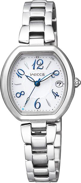 シチズン ウィッカ KL0-715-11 wicca ハッピーダイアリー エコドライブ ソーラー 電波 CITIZEN レディース 腕時計 【レビューで7年保証】