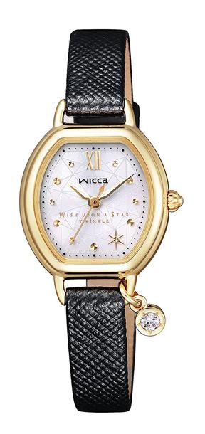シチズン ウィッカ KP2-523-12 wicca×Wish upon a star Twinkleコラボ限定モデル ソーラーテック ソーラー CITIZEN レディス 腕時計 【】【レビューで7年保証】
