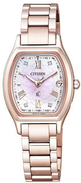 シチズン クロスシー ES9354-51W ハッピーフライト ティタニアライン エコドライブ 電波 CITIZEN レディース 腕時計 【レビューで7年保証】