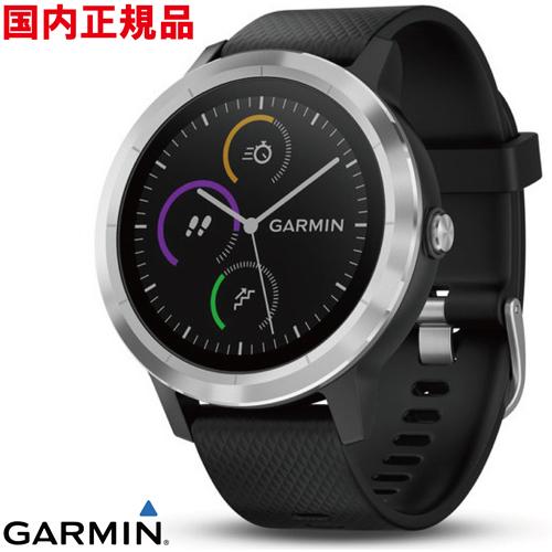 GARMIN(ガーミン) 010-01733-13 vivoactive3 Black stainless 光学式心拍計搭載 タッチパネル式 GPSスマートウォッチ【国内正規品】