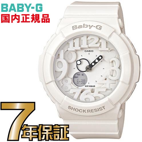 BGA-131-7BJF Baby-G ネオン カシオ正規品  Baby-G 内蔵のブラックライトに反応して針・文字などが発光するネオンイルミネーターを搭載