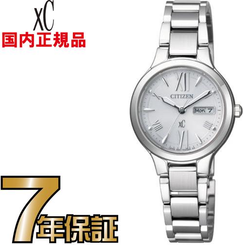 シチズン クロスシー EW3220-54A エコドライブ デイデイト CITIZEN レディース 腕時計 【送料無料】【レビューで7年保証】