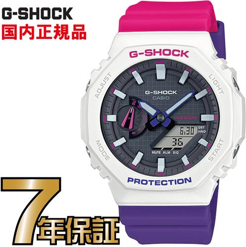 G-SHOCK Gショック アナログ GA-2100THB-7AJF カーボンコアガード構造 CASIO 腕時計 【国内正規品】 メンズ