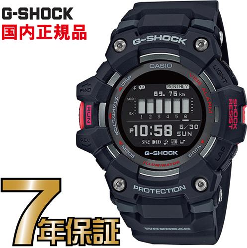 G-SHOCK Gショック GBD-100-1JF G-SQUAD Gスクワッド スマートフォンリンク Bluetooth ランニング デジタル カシオ 腕時計 【国内正規品】 メンズ 新品