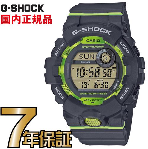 アプリ対応 カシオ CASIO G-SHOCK GBD-800-1BJF 国内正規品 Gショック ジースクワッド Bluetooth
