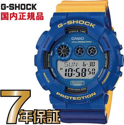 Gショック G-SHOCK GD-120NC-2JF アナログ casio 腕時計 【国内正規品】 メンズ 【送料無料】