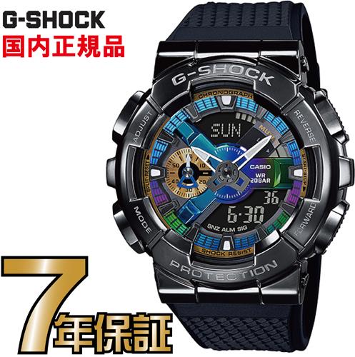 G-SHOCK Gショック GM-110B-1AJF メタルケース カシオ 腕時計 【国内正規品】 メンズジーショック 【送料無料】