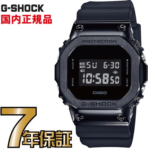 G-SHOCK GショックGM-5600B-1JF メタルケース ブラック カシオ 腕時計 【国内正規品】 メンズジーショック 【送料無料】