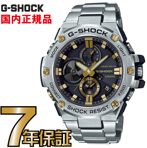 G-SHOCK Gショック GST-B100D-1A9JF アナログ スマートフォンリンク ソーラー G-STEEL Gスチール カシオ 国内正規品 メンズ ジーショック 【送料無料】