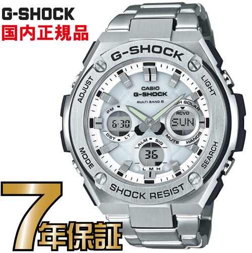 G-SHOCK Gショック GST-W110D-7AJF アナログ 電波 ソーラー G-STEEL Gスチール カシオ 国内正規品 メンズ ジーショック 【送料無料】