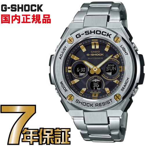 G-SHOCK Gショック GST-W310D-1A9JF ミドルサイズ アナログ 電波 ソーラー G-STEEL Gスチール カシオ