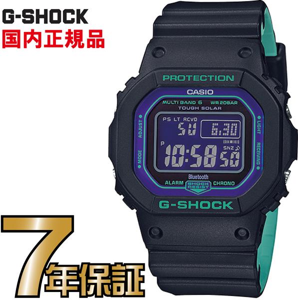 G-SHOCK Gショック GW-B5600BL-1JF 5600 Bluetooth スマートフォン タフソーラー デジタル 電波時計 カシオ 電波 ソーラー 腕時計 電波腕時計 【国内正規品】 メンズ ソーラー電波時計 ジーショック 【送料無料】
