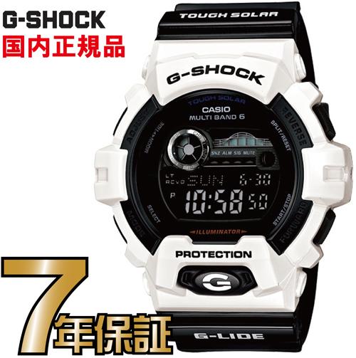 G-SHOCK Gショック GWX-8900B-7JF カシオ 電波時計 タフソーラー 電波 ソーラー 腕時計 電波腕時計 ジーショック 【送料無料】カシオ正規品 「G-LIDE(Gライド)」の夏モデルが新型で登場