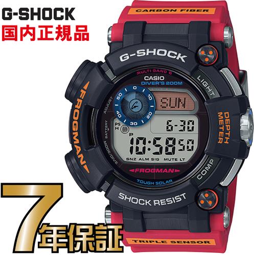 G-SHOCK Gショック 電波時計 GWF-D1000ARR-1JR タフソーラー フロッグマン 電波 ソーラー 電波腕時計 ジーショック 【送料無料】