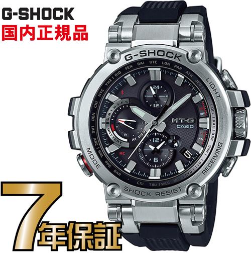 G-SHOCK Gショック MTG-B1000-1AJF アナログ ブルートゥース 電波ソーラー スマートフォンリンク MT-G カシオ