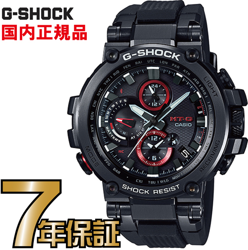 G-SHOCK Gショック MTG-B1000B-1AJF アナログ ブルートゥース 電波ソーラー スマートフォンリンク MT-G カシオ