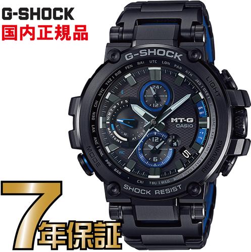 G-SHOCK Gショック MTG-B1000BD-1AJF アナログ ブルートゥース 電波ソーラー スマートフォンリンク MT-G カシオ
