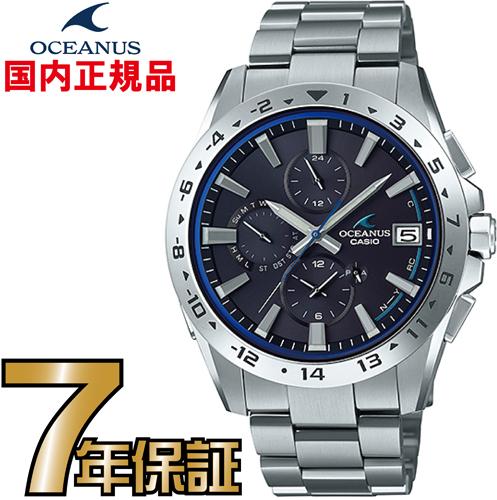 オシアナス CASIO OCW-T3000-1AJF 電波時計 ソーラー タフソーラー電波時計 【送料無料】
