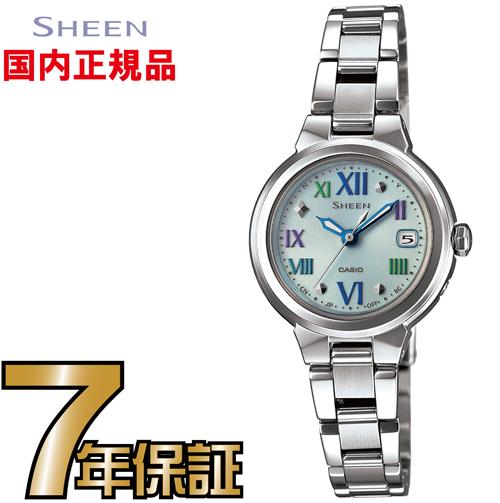 SHW-1508CD-2AJF SHEEN シーン 【送料無料】CASIO カシオ正規品 みずみずしい透明感溢れるカラーリングを取り入れたNewモデルが登場。